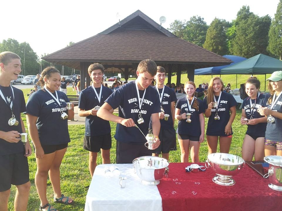 Winning the privilege to drink a Toast from The York Cup in 2014 were Margaux Blanchard, Andrew Wright, Colin Howard, Adam Alt, Ryan Kurtiak, Jackie Ognovich, Aliute Udoka, Victoria Goldin, and Maddie Mullins.