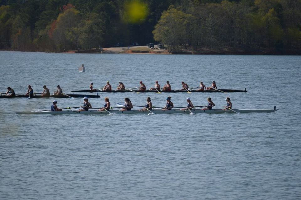 In just its first season of varsity competition High Point's women's varsity crew earned a 4th place finish at the Clemson Sprints Regatta. The crew was comprised of coxswain  Katharine Komsa, stroke Catherine Thompson, Katie Ognovich, Olivia Mangus, Aliute Udoka, Sarah Catto, Morgan Sheehan, Emma Lloyd, and bow Bethany Brake.
