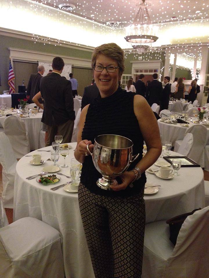 'Masters Rower of the Year': Erin Sanders.