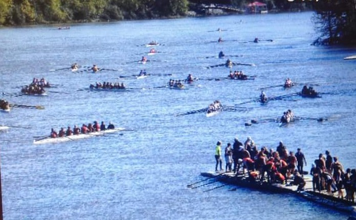 Over 500 crews raced down the Broad River in Auguasta, GA at the Head of the South Regatta.