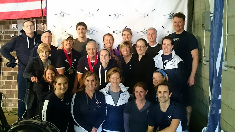 High Point's Masters at 124C Erg Sprints in Jamestown on February 27, 2016.