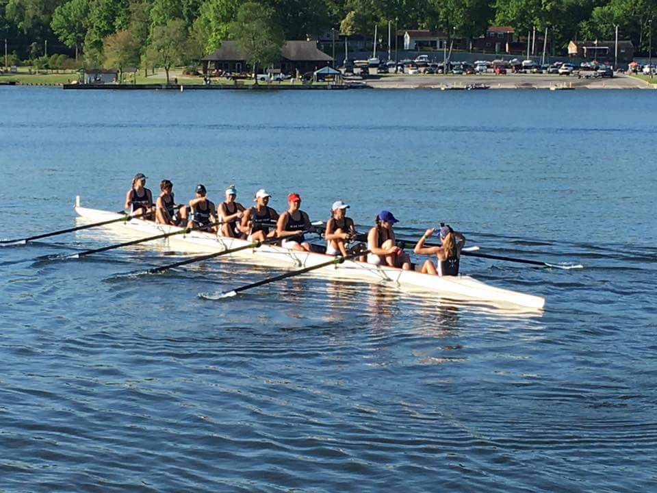 High Point will be represented by coxswain Morgan Epling, stroke Victoria Goldin, Maddie Mullins, Junior Ognovich, Aliute Udoka, Emma Loyd, Jaclyn Hronich, Olivia Corriere, and Shelby Reece in the Women's Youth Eights event at USRowing's Southeast Youth Championships in Sarasota, FL in May. .