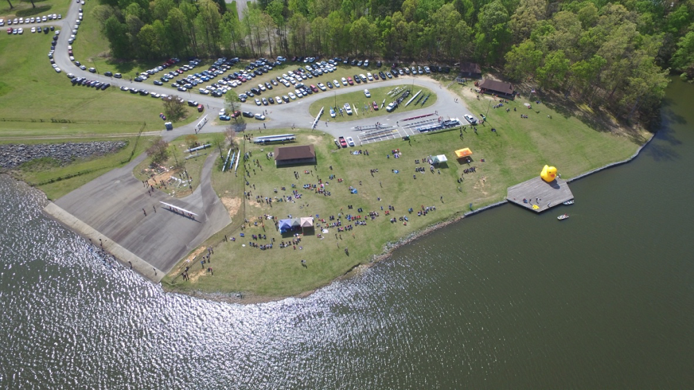 Festival Park at Oak Hollow Lake was the venue for the 2016 High Point Regatta.